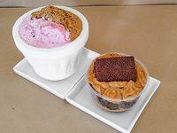 Promo -  1/4 helado + 1 mini torta a elección