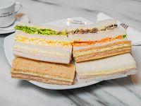 Promoción - Sándwiches de miga tradicionales surtidos (25 unidades)