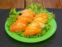 Niguiri salmón (10 unidades)