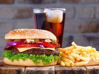 Hamburguesa Especial + Papas + Cocacola 250ml