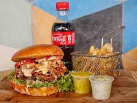 Hamburguesa en Combo Sencilla