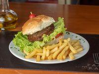 Promo - Hamburguesa con fritas