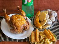 1 Pollo Frito en Combo