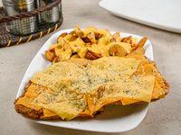Milanesa para 1+ 4 gustos a elección + guarnición + salsa a elección