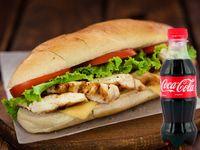 Promoción Sándwich Pollo con Champiñón