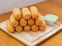 Promo -  12 tequeños (7 cm)  + salsa