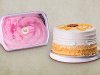 Combo Torta Pequeña + Litro de helado