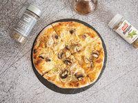 Pizza con Pollo y Champiñones Personal