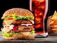 Combo hamburguesa de Solomo