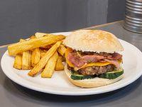 Oslo burger con guarnición