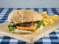 Combo Hamburguesa sencilla de carne