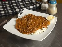 Spaghetti Boloñesa.