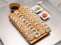 Combinado - 40 Piezas tempura + 4 niguiri + bebida 1.5