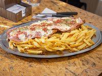 Promo - Milanesa napolitana (para 2) + papas fritas