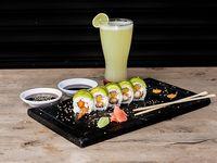 Shrimp Roll (10 Bocados) + Limonada Natural