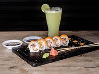 Kiiro Roll (10 Bocados) + Limonada Natural
