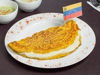 Cachapa con queso Llanero