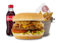 Combo hamburguesa Prémium California