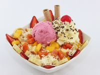 Ensalada de Frutas Full 1 Bola de Helado