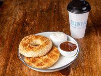 Combo 4 - Café a elección +bagel tostado a elección