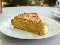 Torta de almendras (porción)