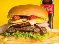 Hamburguesa Argentina + Coca-Cola 400 ml