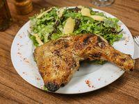 Pollo con guarnición