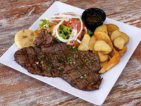 Baby Beef de Res Hamburgo A La Parrilla