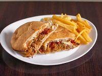 Sándwich de bondiola braseada