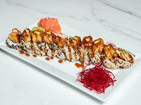 Crunchy salmón roll (10 piezas)