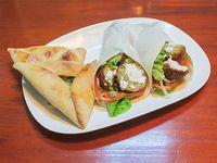 Promo - 2 shawarma vegetarianos ( 2 falafel verduras  y salsa especial) + 2 fatay verduras