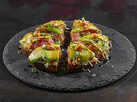 Pizza Kokeshi (Salmón y Atún)