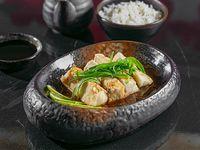 Corvina Thai (Base de salsa de gengibre)