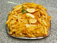 Suprema con papas fritas (para 2 a 3 personas)