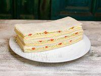 Sándwiches de queso, morrón y huevo (6 unidades)