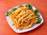 Papas fritas precocidas porción