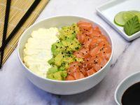 Sushi salad salmón, palta y phila