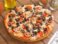 Pizza contrareloj para 2 (32 cm)