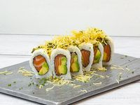 Salmón nikkei roll 10 piezas