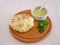 Arepa de queso llanero