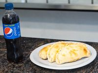 Promo 6 - 3 empanadas de carne + Pepsi 600 ml