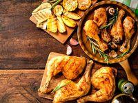 1 Pollo Asado + 6 Arepas