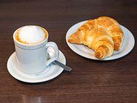 Café con Leche más 2 medialinas de manteca