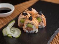 Meraki sake roll (9 piezas)