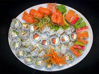 Tabla de sushi - 45 piezas premium