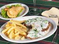 Promo - Empanada criolla + matambre al Verdeo con papas fritas