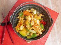 110 - Pollo con curry