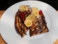 Waffle Choco-Banano