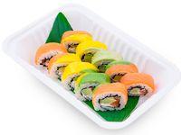 Sushi Roll Arcoíris Philadelphia