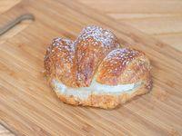 Croissant con crema pastelera